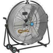 "Continental Dynamics® 30"" Orbital Tilt Drum Blower Fan - Direct Drive - 10440 CFM - 1/3 HP"