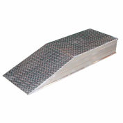 "Aluminum Wheel Riser Ramp ATWR-24-10-60 - 60""L x 24""W x 10""H - 15,000 Lb. Cap."