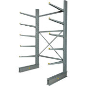 "Cantilever Rack Single Sided Starter Unit Heavy Duty (2000 Series),72""W  x 50""D x 10'H,10300 Lbs Cap"