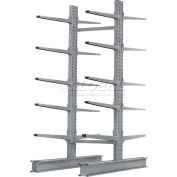 """Cantilever Rack Double Sided Starter Unit Heavy Duty (2000 Series),72""""W  x 83""""D x 10'H,20600 Lbs Cap"""