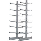 "Cantilever Rack Double Sided, Starter Unit Extra Heavy Duty, 72""W  x 82""D x 10'H, 31600 Lbs Capacity"