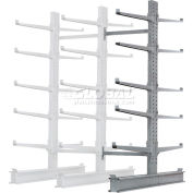"""Cantilever Rack  Double Sided Add-On Unit Heavy Duty (2000 Series),72""""W  x 83""""D x 10'H,20600 Lbs Cap"""