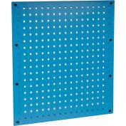 Global Industrial™ Steel Pegboard Panel 18 x 19 - Blue