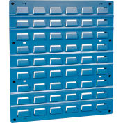Global Industrial™ Steel Louver Panel 18 x 19 - Blue