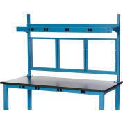 """Global Industrial™ Panel Mounting Kit for 60""""W Bench - Blue"""