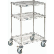 Nexel® Mobile Cleaning Chemical Storage Cart