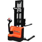 """PrestoLifts™ PowerStak™ Fully Powered Stacker PPS2200-125AS 2200 Lb. 125"""" Lift"""