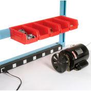 """60""""L Bin Rail - Blue for Pro-Line Workbench"""