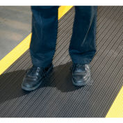 """NoTrax® Achilles™ Surface Mat 5/8"""" Thick 3' x Up to 30' Black/Yellow Border"""