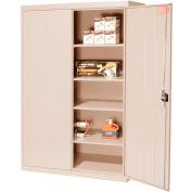 Sandusky Elite Series Storage Cabinet EA4R462472 - 46x24x72, Sand