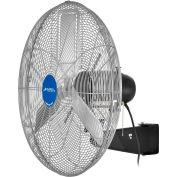 "Global Industrial™ 30"" Oscillating Wall Mount Fan, 3 Speed, 10000 CFM, 1/2 HP, Single Phase"