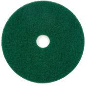 "Global Industrial™ 20"" Scrubbing Pad, Green, 5 Per Case"
