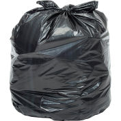 Global Industrial™ 2X Heavy Duty Black Trash Bags - 40 to 45 Gal, 1.7 Mil, 100 Bags/Case