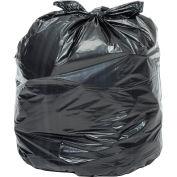 Global Industrial™ Super Duty Black Trash Bags - 40 to 45 Gal, 2.5 Mil, 100 Bags/Case