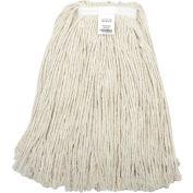 Global Industrial™ 16 oz. Cotton Cut-End Mop Head, 4Ply, Narrow Band