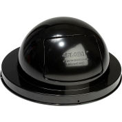Global Industrial™ Steel Dome Lid For 36 Gallon Trash Can, Black