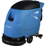 """Global Industrial™ Electric Walk-Behind Auto Floor Scrubber 20"""" Cleaning Path - Corded"""