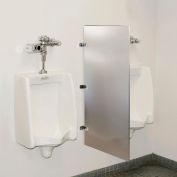 Global Industrial™ Bathroom Stainless Steel Urinal Screen 24 x 42