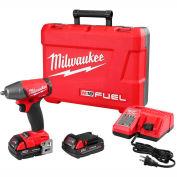 "Milwaukee 2754-22 M18 FUEL 3/8"" Friction Ring Impact Wrench, Kit"