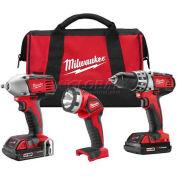 Milwaukee 2691-23 M18 Cordless Li-Ion 3-Tool Combo Kit