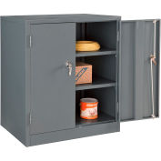 Global Industrial™ Counter Height Cabinet Easy Assembly 36x24x42 Gray