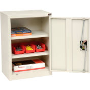 "Global Industrial™ Wall Storage Cabinet Assembled 18""W x 12""D x 26""H White"