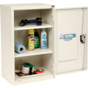 "Global Industrial™ Wall Storage Cabinet Assembled 19-7/8""W x 14-1/4""D x 32-3/4""H White"