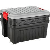 United Solutions ActionPacker Lockable Storage Box 24 Gallon 26-1/8 x 18-1/2 x 17 - Pkg Qty 4