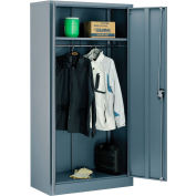 Global Industrial™ Wardrobe Cabinet Easy Assembly 36x18x72 Gray