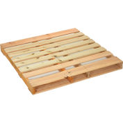 "Global Industrial™ New Hard Wood Pallet 48"" x 48"" x 4-1/2"""
