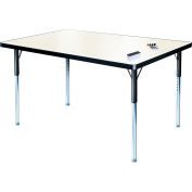 "Whiteboard Activity Table 42"" x 60"" Rectangle, ADA Compliant Adjustable Height"