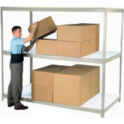 """Additional Shelf With Laminated Deck 96""""W x 24""""D Tan"""