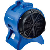 """Global Industrial™ 12"""" Confined Space Vent Fan, Rotomold Plastic, 2700 CFM, 1 HP"""