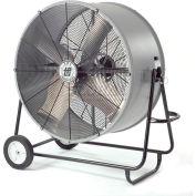 """TPI 36"""" Haz. Location Portable Blower Fan W/ Swivel Base, 1 Speed, 6900 CFM, 1/2 HP, Single Phase"""