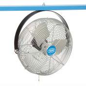 """Global Industrial™ 12"""" Industrial Workstation Fan - Yoke Mount - 1855 CFM - 1/15 HP"""