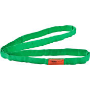 Global Industrial™Polyester Round Sling, Endless, 4 Ft. x 1.25 In, 5300/4200/10600 Lbs Cap