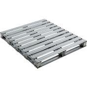 "Global Industrial™ Galvanized Steel Pallet - 48""L x 42""W x 4-3/4""H"