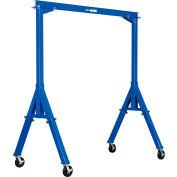 Global Industrial™ Fixed Height Steel Gantry Crane, 10'W x 10'H, 2000 Lb. Capacity