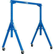 Global Industrial™ Steel Gantry Crane 10' Adjustable Height 2000 Lb. Capacity