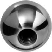 J.W. Winco BK Brass Ball Knobs Tapped 25.4mm Diameter mm Length 10-24