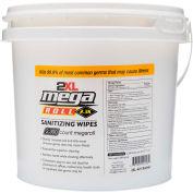 2XL Mega Roll Hand Sanitizing Wipes W/ Bucket - 2 Rolls/Case 2XL-421