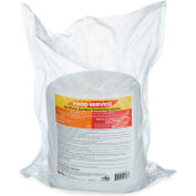 2XL No Rinse Food Service Sanitizing Wipes Refill, 500 Wipes/Roll, 2 Refill Rolls/Case - 2XL-446