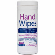 2XL CareWipes Alcohol Free Hand Sanitizing Wipes, 70 Wipes/Can, 6 Cans/Case - 2XL-470