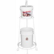 2XL GymWipes/CareWipes White Wire Floor Stand - 2XL-50