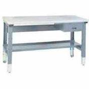 "60""W X 30""D Plastic Laminate Premium Grade Square Edge Workbench"