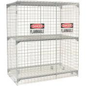 Vertical 24 Cylinder Storage Cabinet