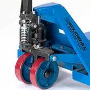 "Replacement 7"" Polyurethane Steer Wheel for 585354, 168032 thru 168040 Global Premium Pallet Truck"