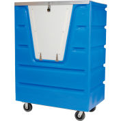 Dandux Blue Hopper Front Security Bulk Truck 51-2560SU 58 Cu. Ft.