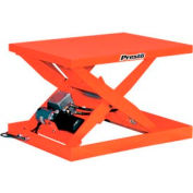 PrestoLifts™ Powered Scissor Lift Table XS36-15-H Hand Control 1500 Lb.
