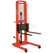 PrestoLifts™ Hydraulic Stacker Lift Truck M466 1000 Lb. with Adj. Forks